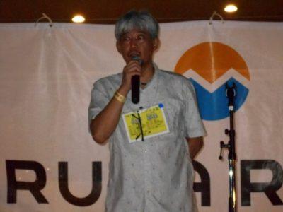 OB会代表幹事佐野嘉保さんに今回の交流会の所感をいただきました。