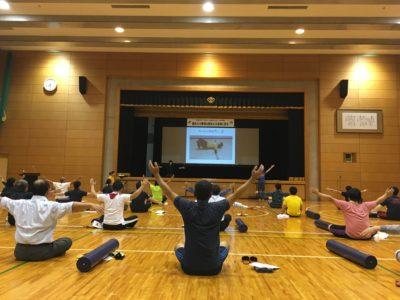 <p>研修会「健全なる精神は健全なる身体に宿る。」が開催されました。</p>
