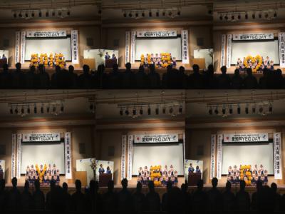 <p>オープニングは開催地の愛知県立大府高等学校チアリーディング部のみなさんによるチアリーディング。</p>