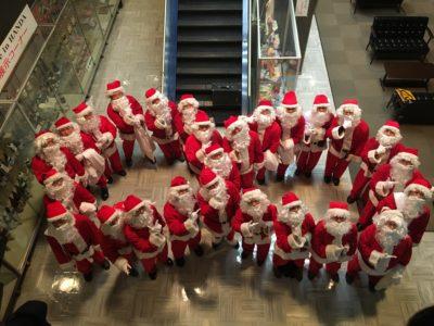 『突然サンタクロース事業』が開催されました。