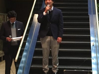 サンタクロース委員会鈴木靖隆委員長の挨拶