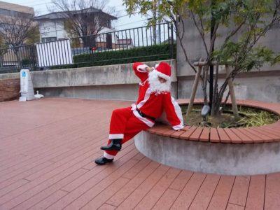 『サンタクロース』までも駆けつけてくれました。
