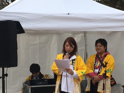 司会進行は河村由香里さんにより円滑に運んでいただきました。