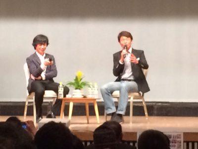 第3部白戸先生と石田先生の対談の様子