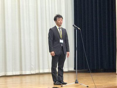 山本悠介くん 開会の辞