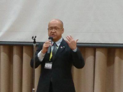 会長挨拶 芳賀康宜会長
