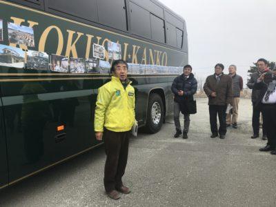山元語り部の会の方が、写真を交えて説明してくださいました。