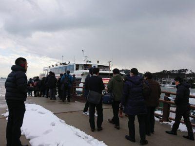 午後からは松島観光にいきました。