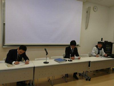 半田YEGメンバー 前田くんは、2011年当時に有志メンバーとして宮城県へ赴き、炊き出しなどの活動をおこないました。その時の気持ちや思いを話してくれました。