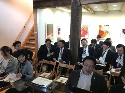 恵那川上屋で社長の講演を聞きました。