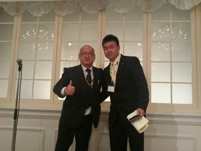 平成29年度半田商工会議所青年部の新人賞が発表されました受賞したのは山下典昭くん