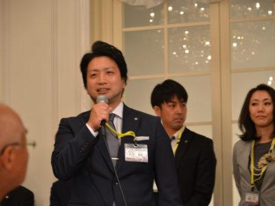 平成30年度副会長 鈴木靖隆くん