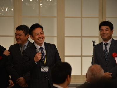 愛知県連出向 研修委員会 委員長 榊原吉隆くん