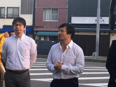 副委員長 藤内雅規くんの司会で始まりました。