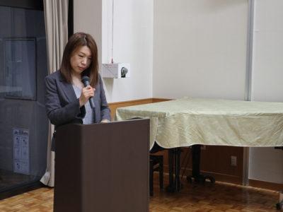司会 神谷千恵子くん