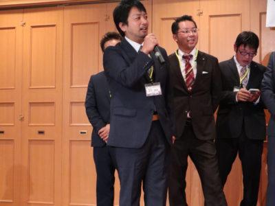 次年度専務予定者 鈴木靖隆くんによる次年度役員の紹介