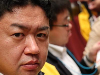 榊原顕太郎会長の大会にかける鋭い眼力