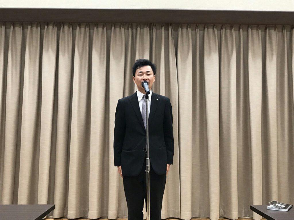 伊藤之浩さんの閉会宣言。