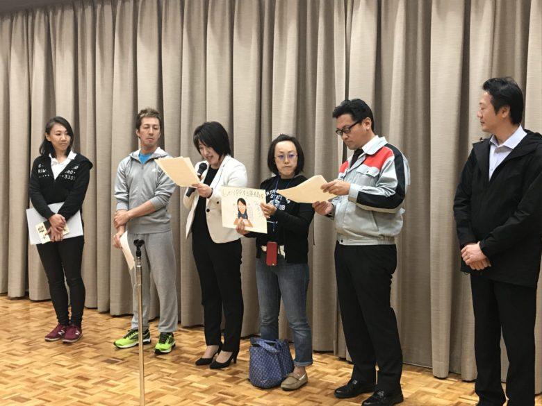 後半は、杉浦晴美さんに、紙芝居は久世三央子さんにやっていただきました。