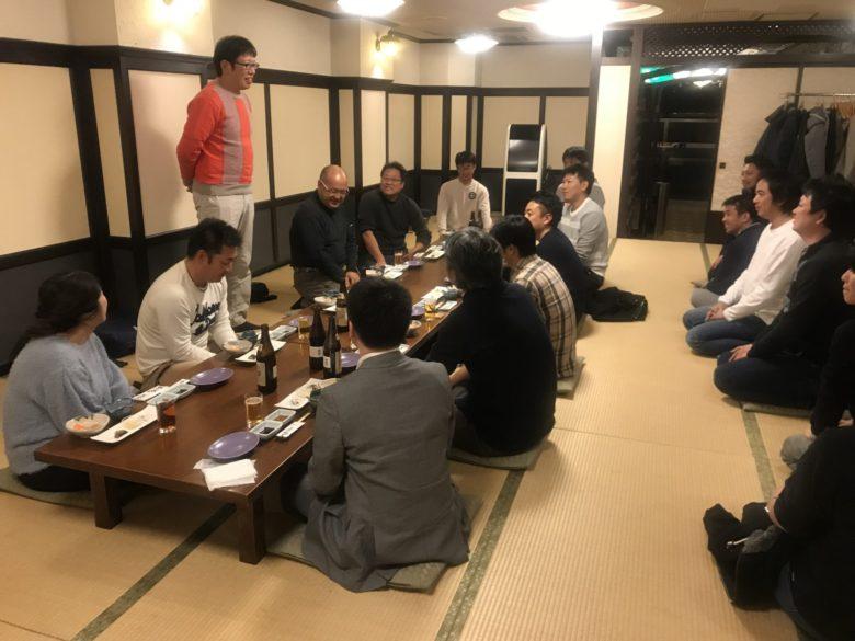 榊原康仁当時会長からの挨拶…リベンジ成功したね的な話し。