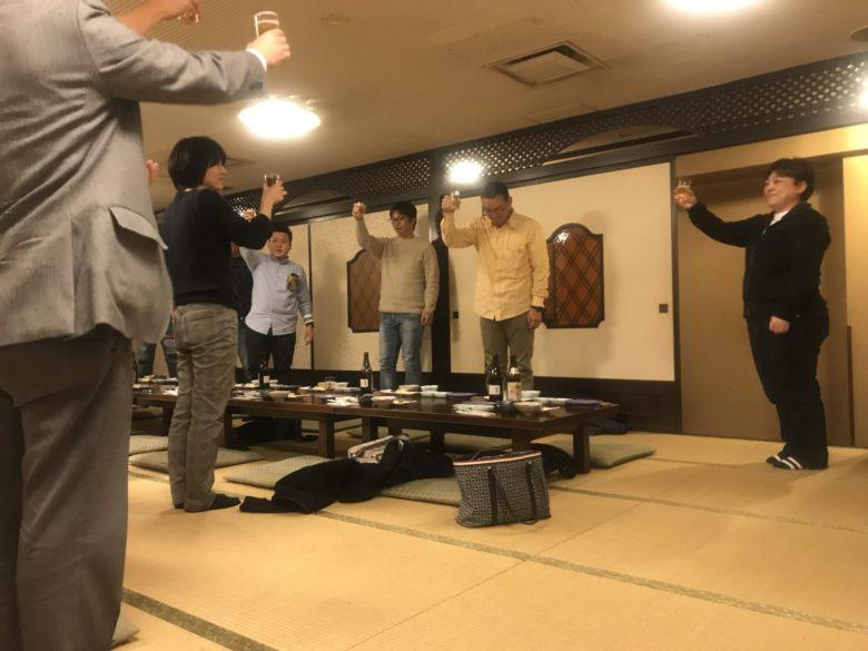 卒業生を代表して早川美峰さんによる乾杯!