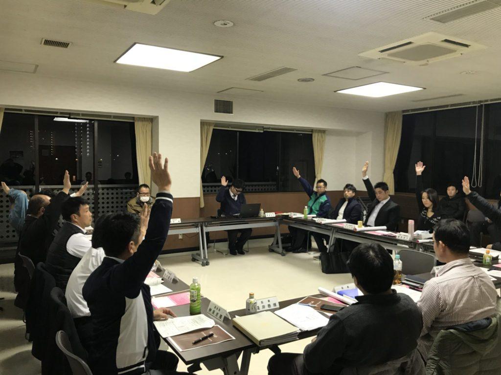日本YEG BPCコンテストへのエントリー、一次審査を経て、6月研修会の収支決算報告審議が、研修委員会 石川大志委員長から上程されました。賛成多数で可決!一次審査を2名が通過されました!すごい!