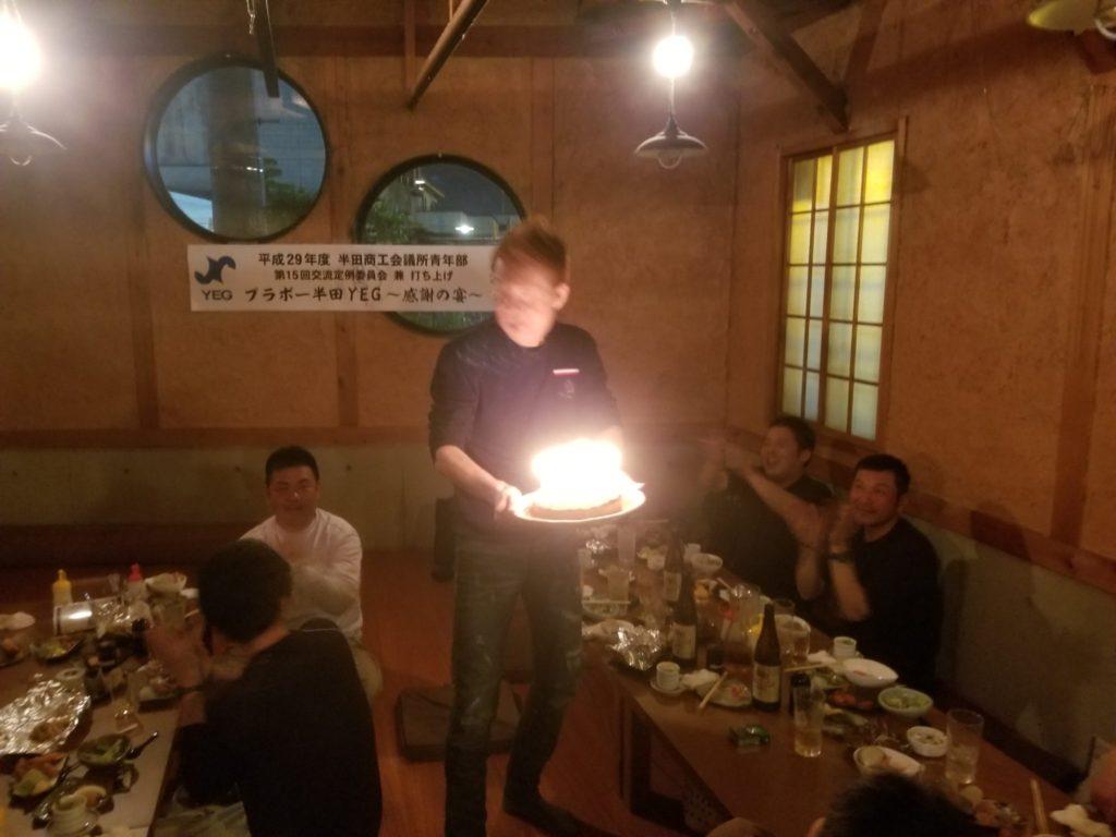 宮本君お誕生日おめでとう!!