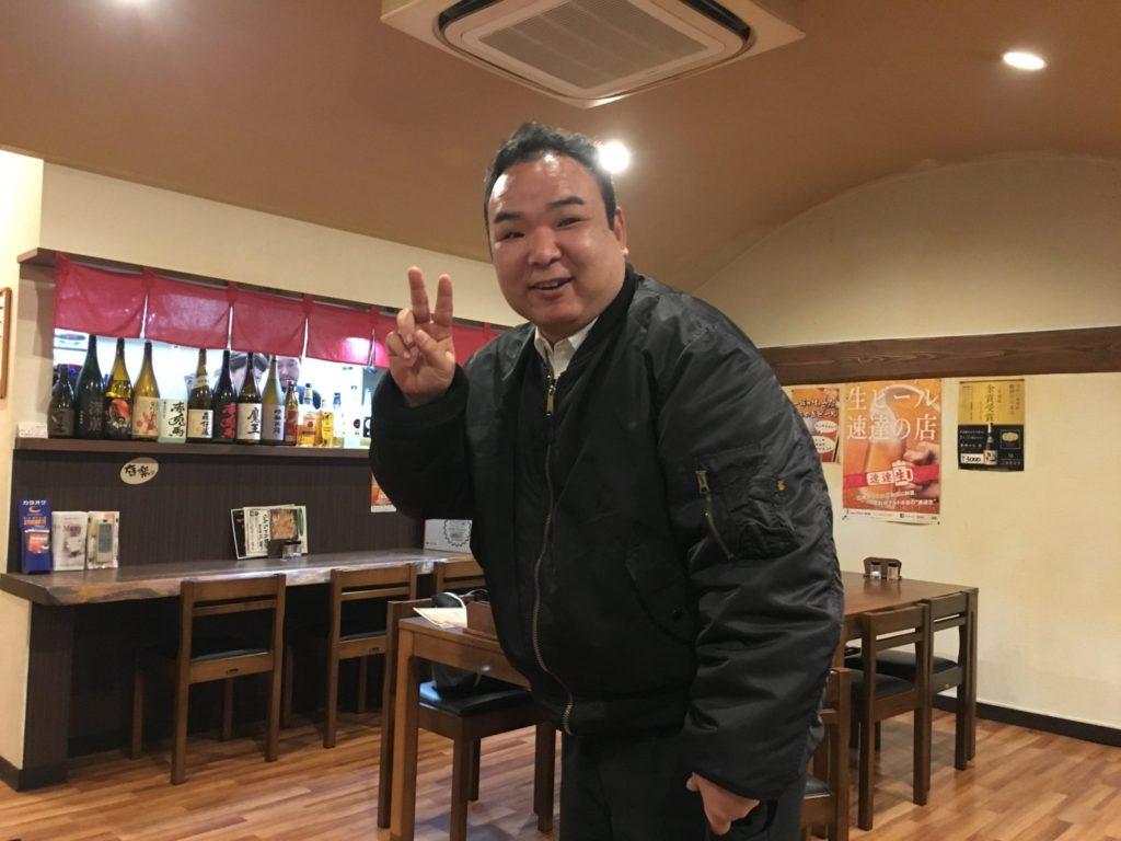 内山さんお忙しい中、顔を出してくれました。