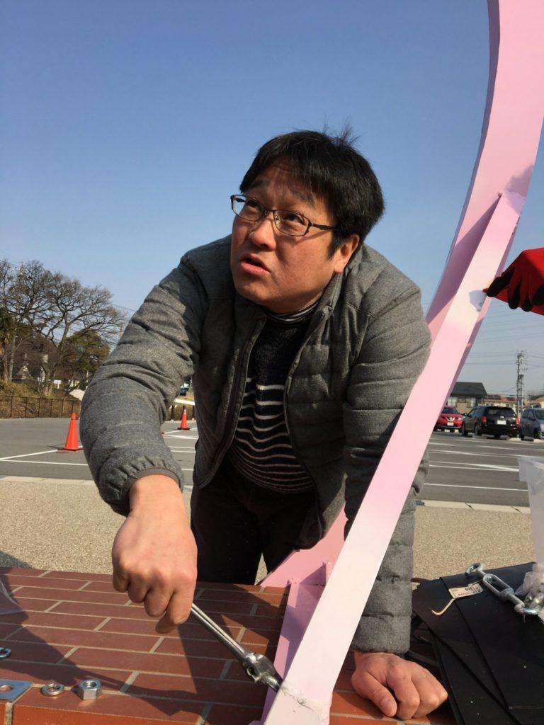 淺井次年度会長も、作業に精が出ます。使える男、仕事が早い男、淺井です✨
